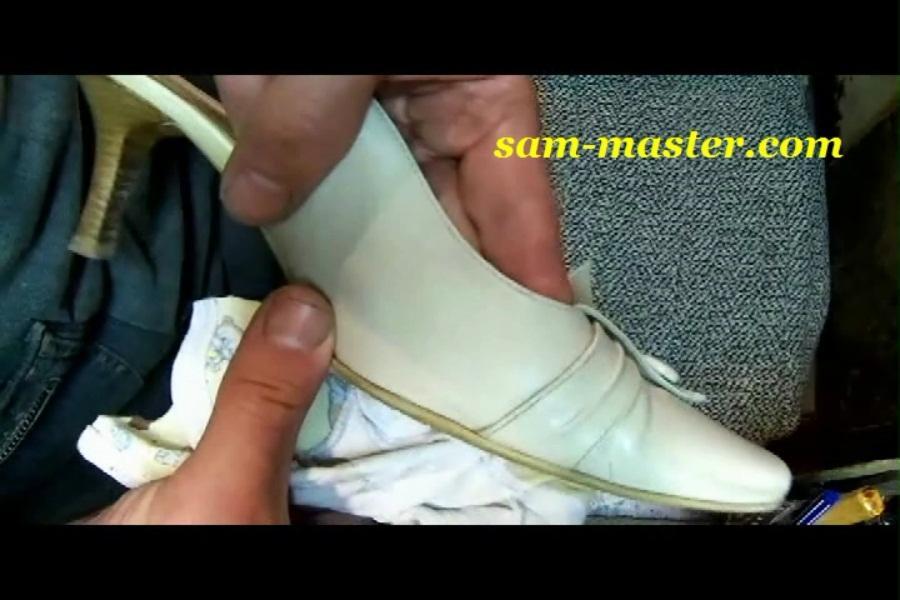 убрать темные пятна с обуви
