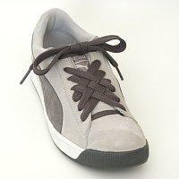 Как красиво завязать шнурки.