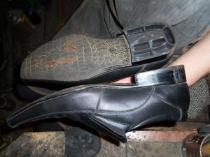 Набойки на пластмассовый каблук
