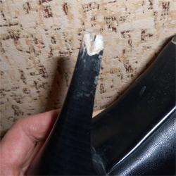 Восстановить разрушенную часть каблука