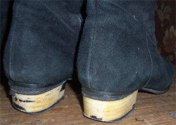 Отдирается кожа на каблуках