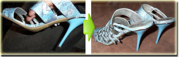 Металлические набойки тонкие каблуки