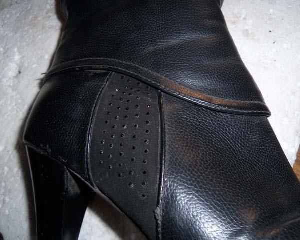 обувь из заменителя кожи