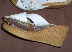 Обувь на платформе проблемы