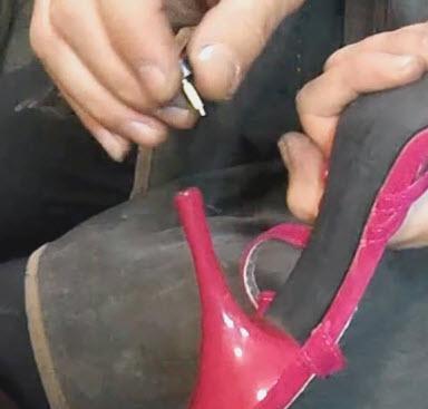 поменять набойки Ремонт обуви, уход за обувью, выбор обуви Блог мастера по ремонту обуви