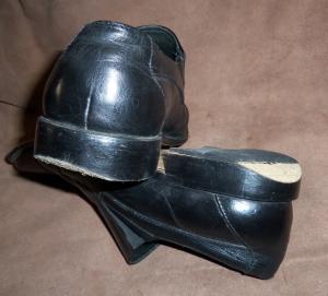 заношенный каблук