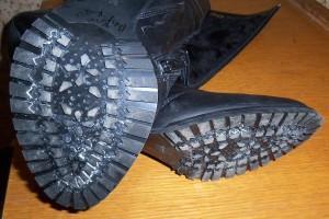 не скользит обувь