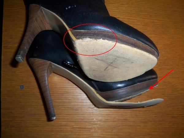 ремонт женской обуви
