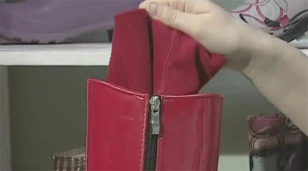 подошва резиновой обуви